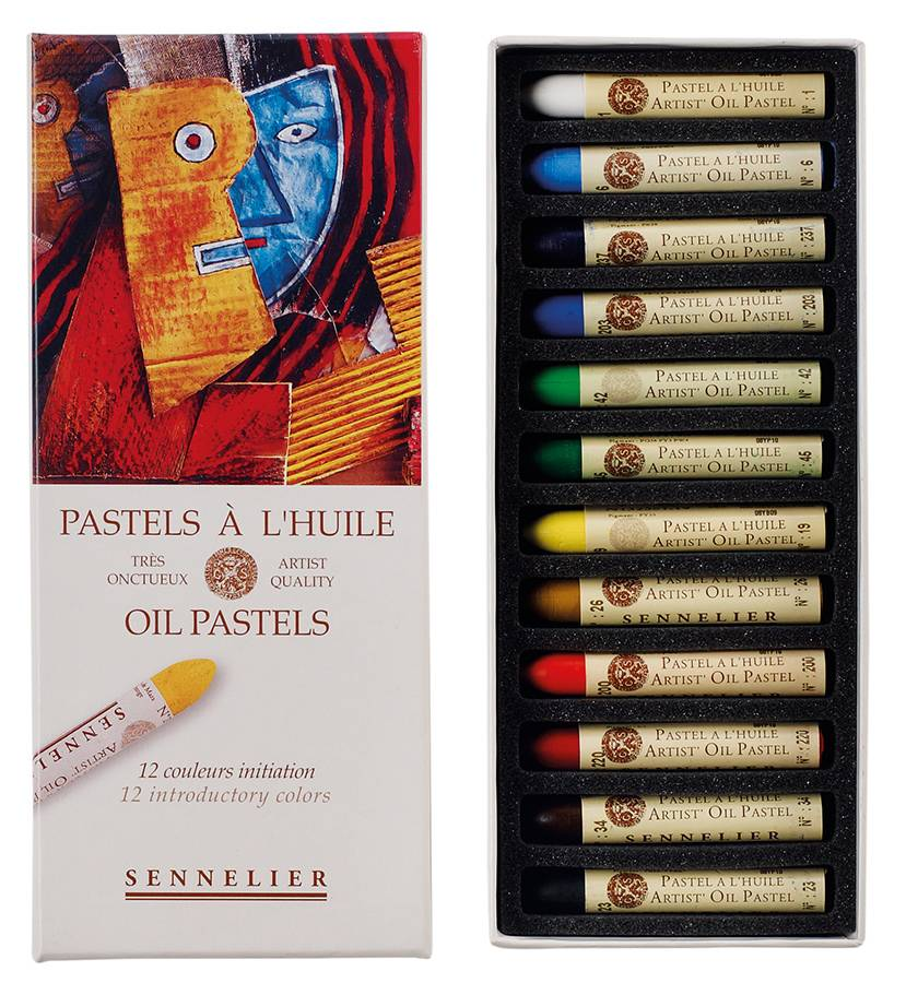 Sennelier-Oil-Pastels-Malset-mit-5ml-Sticks