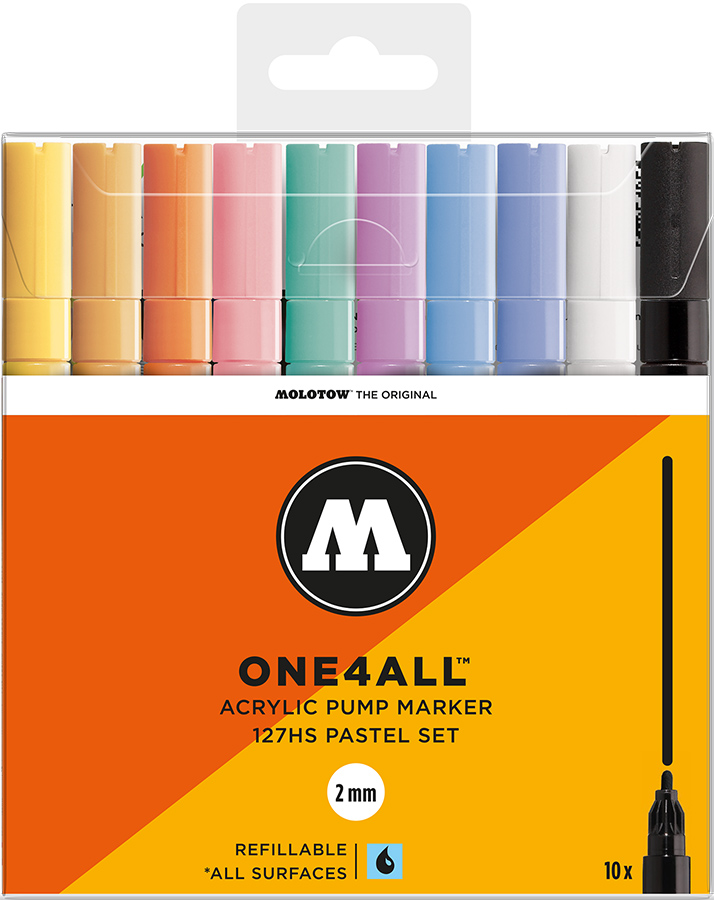 Molotow-ONE4ALL-2mm-Malset-10-Stifte-Pastel-Set