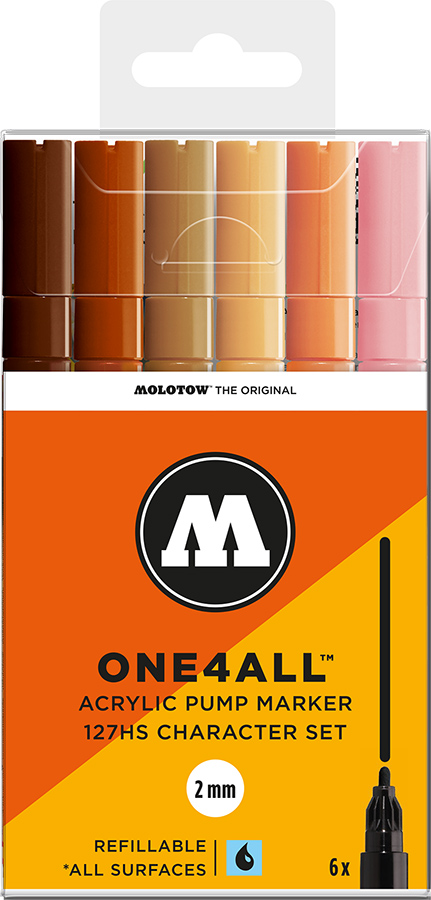 Molotow-ONE4ALL-2mm-Malset-6-Stifte-Charakterset