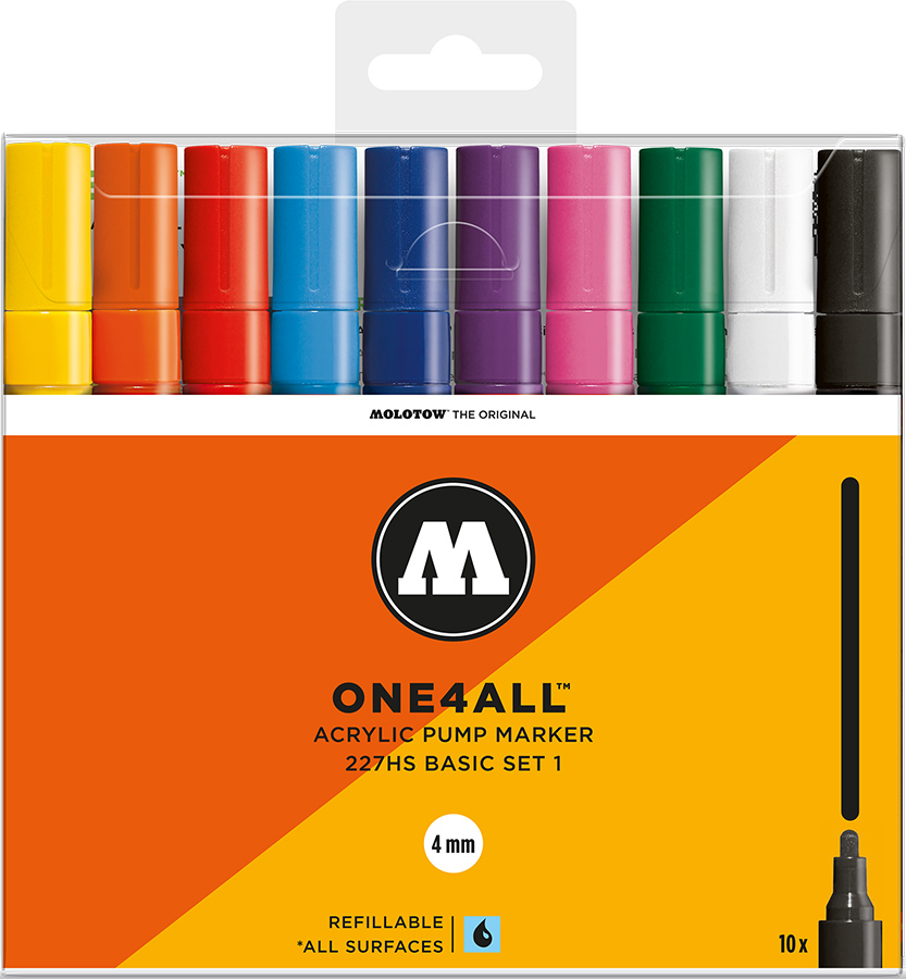 Molotow-ONE4ALL-4mm-Malset-10-Basisset-1
