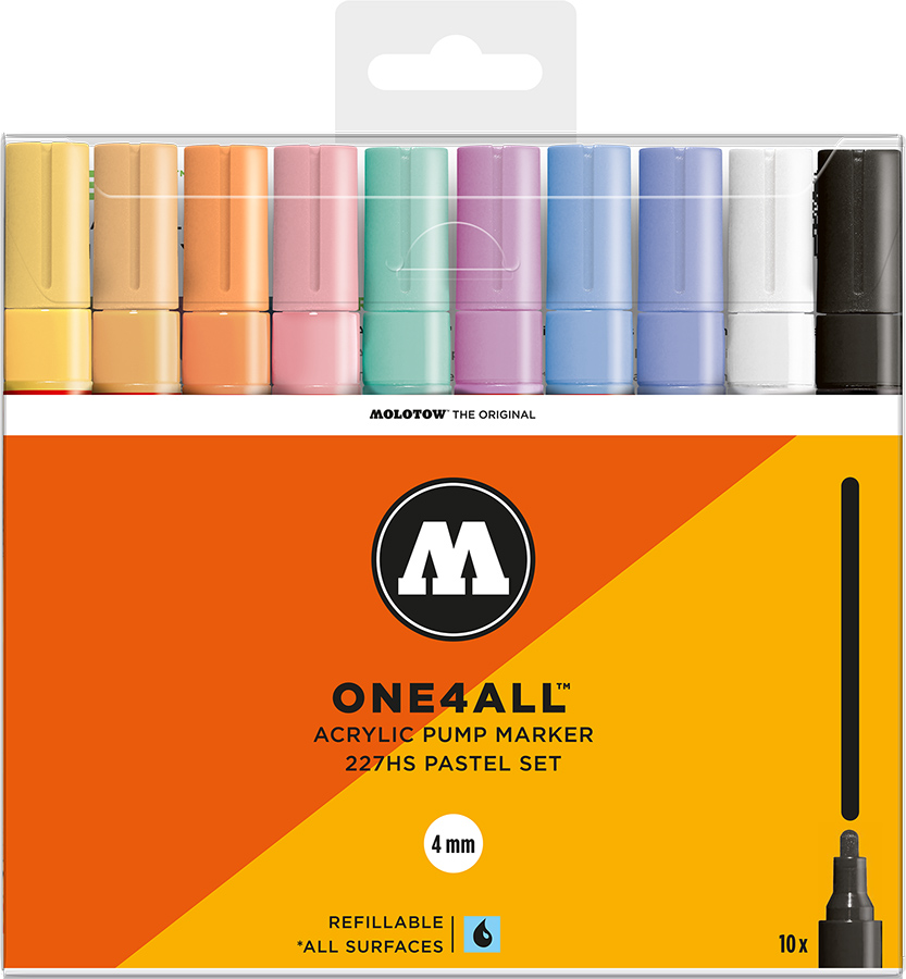 Molotow-ONE4ALL-4mm-Malset-10-Pastellset