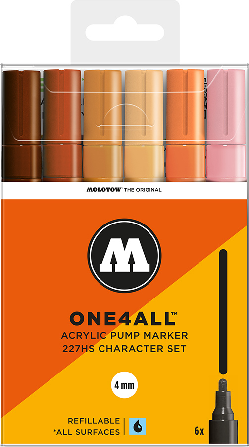 Molotow-ONE4ALL-4mm-Malset-6-Stifte-Charakterset
