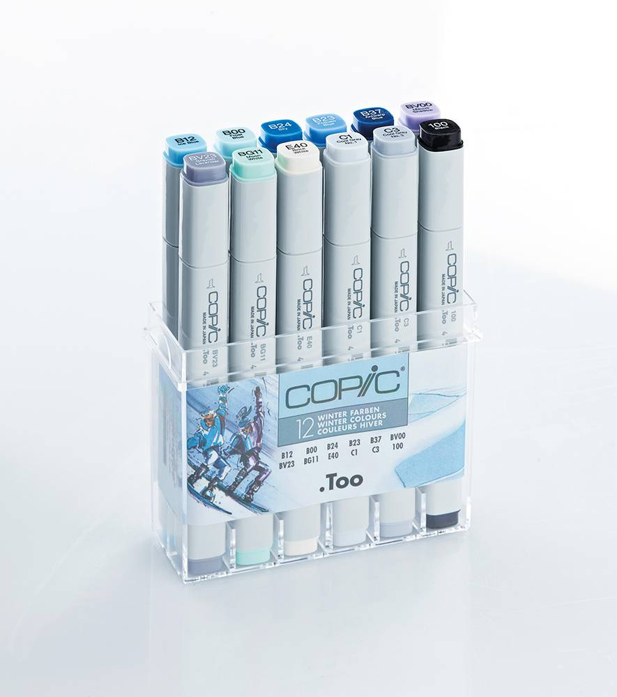 Copic-Marker-Set-12-Farben-blau